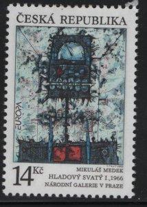 CZECHOSLOVAKIA  2881, HINGED, 1993 Holy hunger