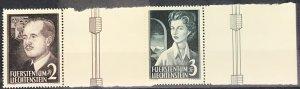 Liechtenstein #287-288 MNH CV$140.00 Franz Joseph II Georgina [190879]