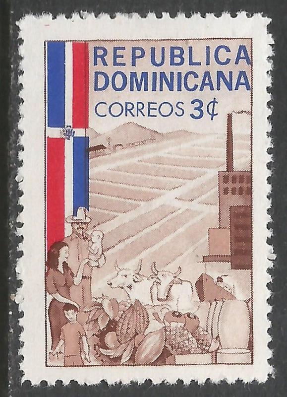 DOMINICAN REPUBLIC 567 MOG Z1496
