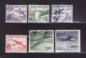 Chile C183-C188 U Planes (A)