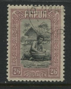 Papua 1932 2/6d used