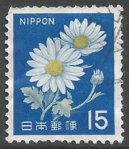 JAPAN 914 VFU FLOWERS 855B