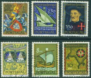 PORTUGAL Scott 860-865 MNH** 1960 Prince Henry stamp set ...