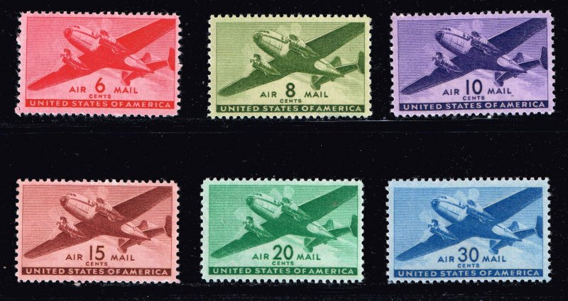 US STAMP BOB AIR MAIL MNH STAMP COLLECTION LOT  #3