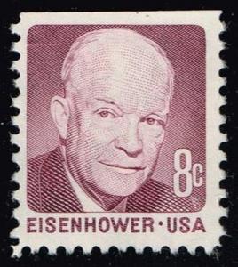 US #1395 Dwight D. Eisenhower; Used (0.25)