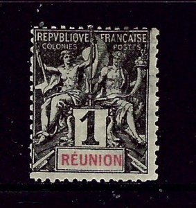 Reunion 34 Used 1892 issue        (P100)