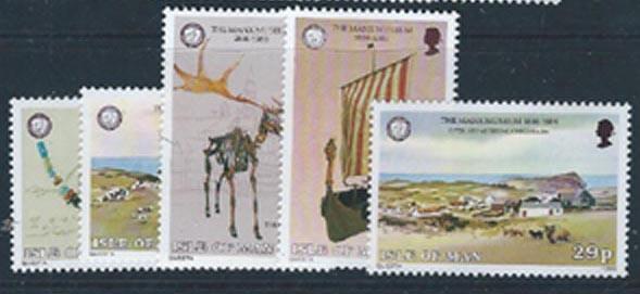 Isle of Man 301-305 (NH)