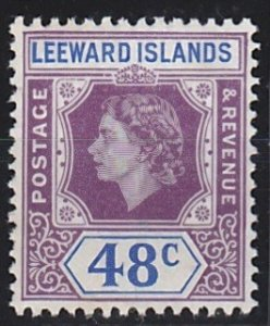 Leeward Islands 143 MNH (1954)