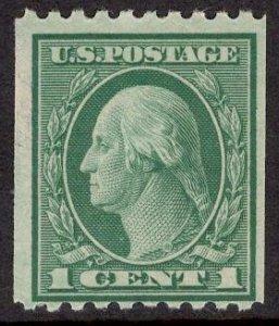 US Stamp #486 1c Washington Coil MINT NH SCV $1.75