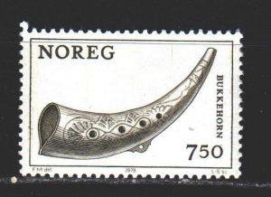Norway. 1978. 786 from the series. Musical instruments. MNH.