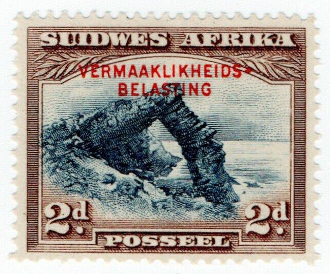(I.B-BOB) South-West Africa Revenue : Entertainment Tax 2d (Afrikaans)