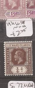 Leeward Islands 1921 KGV SG 58 MNH (9cdz)