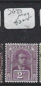 SARAWAK  (P2704B) BROOKE  2C  SG 77  MOG