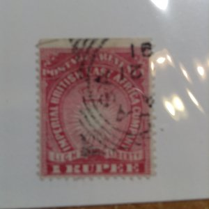 British East Africa  # 25  Used