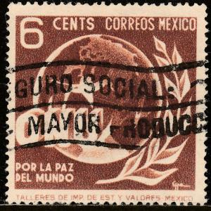 MEXICO 814, 6c Honoring the United Nations. Used. F-VF. (863)