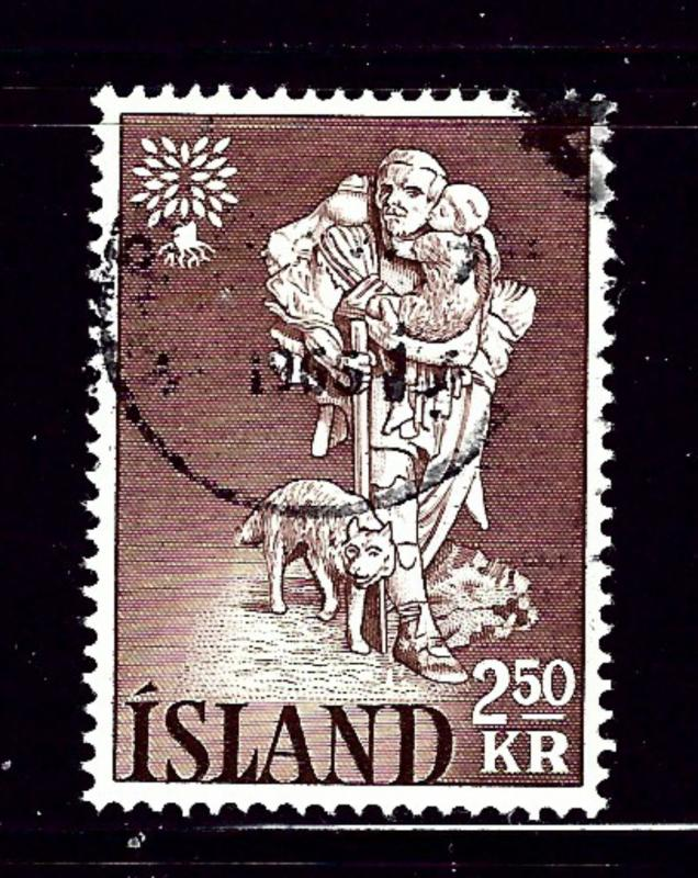Iceland 325 Used 1960 issue