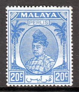 Malaya (Perlis) - Scott #25 - MH - SCV $1.25