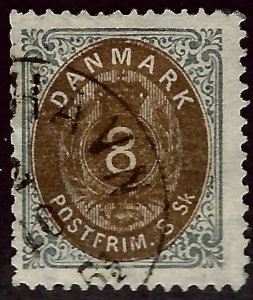 Denmark #19 Used F-VF hr SCV$75...choose your price!