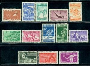 Nicaragua #717-729  Mint  Scott $23.35