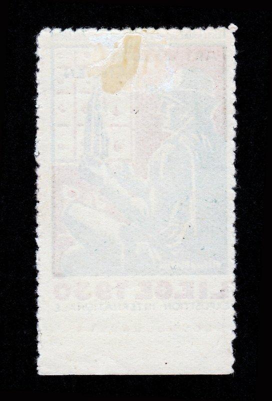 REKLAMEMARKE POSTER STAMP ART WALLON ANCIEN LIEGE 1930 EXPO INTERNATIONALE