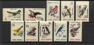 BIRDS - ROMANIA #3812-21  MNH