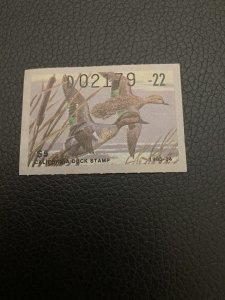 1983 CA DUCK STAMP