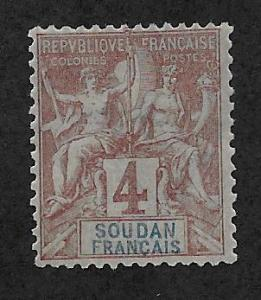 FRENCH SUDAN SC# 5  F/MOG  1894