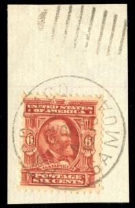 momen: US Stamps #305 Used PAGO PAGO SAMOA Cancel
