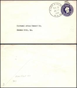 Goldpath: US cover 1940, R.P.O.  _CV23_P4