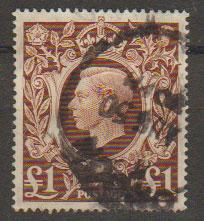 GB George VI  SG 478c Used very heavy cancel