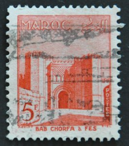 DYNAMITE Stamps: French Morocco Scott #315 – USED