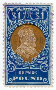 (I.B) Australia - NSW Revenue : Stamp Duty £1