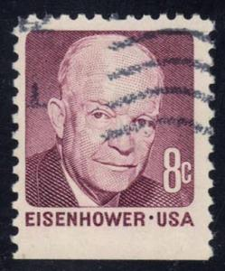 US #1395 Dwight D. Eisenhower, used (0.25)