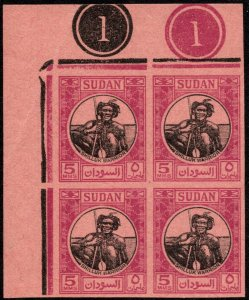 Sudan Scott 102 Unused no gum as issued.