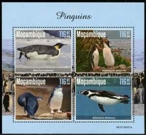 MOZAMBIQUE 2019  PENGUINS SHEET MINT NEVER HINGED