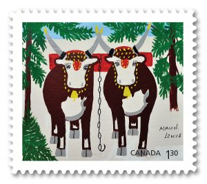 Stamps Canada 2020. - Maud Lewis: Booklet of 6 stamps. ( USA )