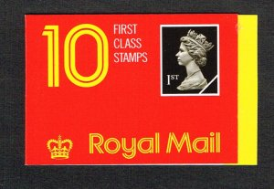 Great Britain Booklet SG HD2