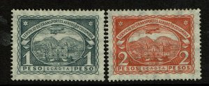 Colombia SC# C47 and C48, Mint Hinged, Hinge/Mount Remnant - S10298