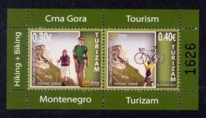 Montenegro Sc# 342a MNH Tourism 2013 (S/S)