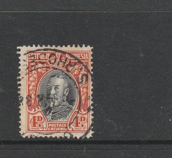 Southern Rhodesia 1931/7 4d  P14 Used SG 19b