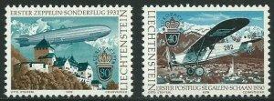 Liechtenstein MNH 663-4 Europa Aviation 1979
