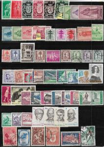 Belgium collection of 1326 DIFFERENT 2017 SCV $825.00 + -see descrip. -price cut