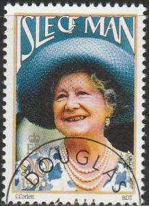Isle Of Man, #425 Used From 1990