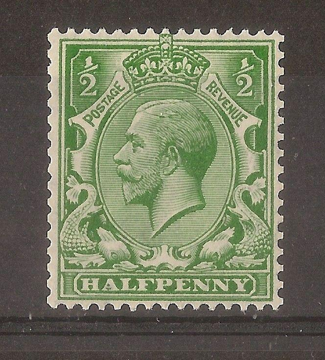 GB 1913 0.5d Multiple Royal Cypher SG397 MNH Cat£250