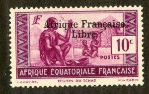 FRENCH EQUATORIAL AFRICA 85 MH SCV $4.00 BIN $1.75 CULTURE