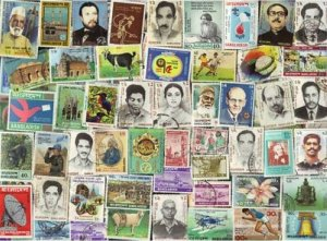 100 ALL DIFFERENT BANGLADESH STAMPS Pics & Comms
