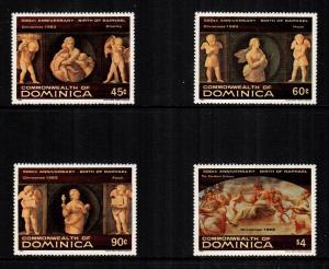 Dominica  817 - 820  MNH cat $ 3.15