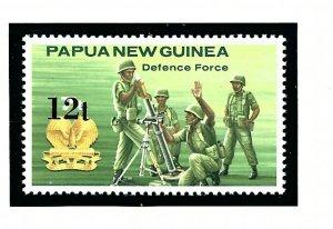 Papua New Guinea 615 MNH 1985 Defense Forces
