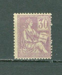 FRANCE #120(YT 115) TYPE 1...MINT...$70.00