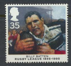 Great Britain SG 1894  Used  - Rugby League